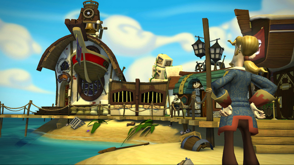 Tales of Monkey Island Complete Pack: Chapter 3 - Lair of the Leviathan screenshot
