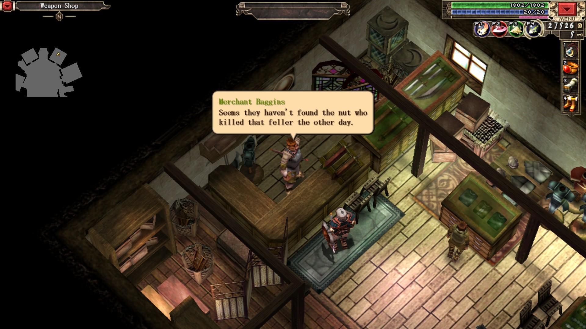 Xanadu Next Screenshot 2