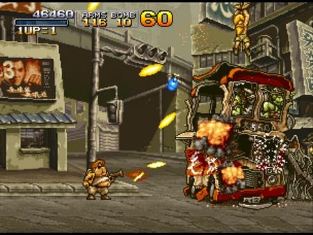 Metal Slug X скриншот