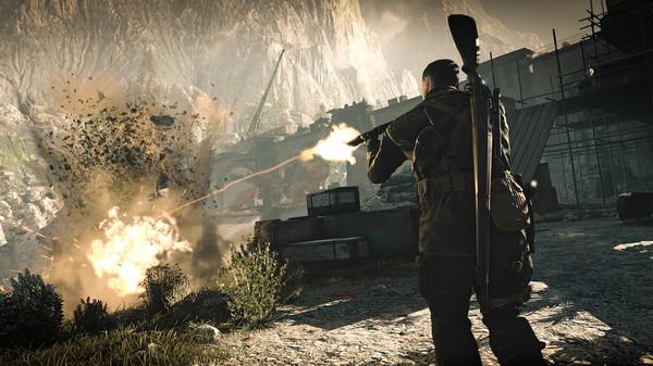 Скриншот №15 к Sniper Elite 4