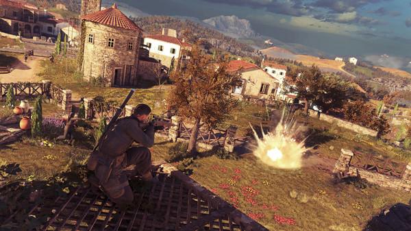 Скриншот №20 к Sniper Elite 4