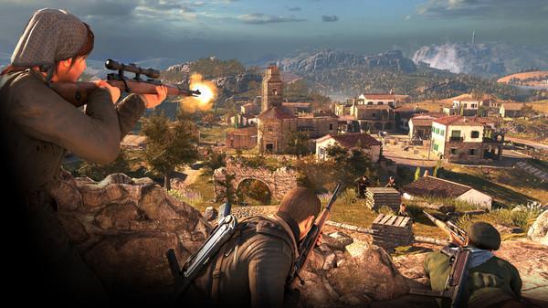 Скриншот №2 к Sniper Elite 4