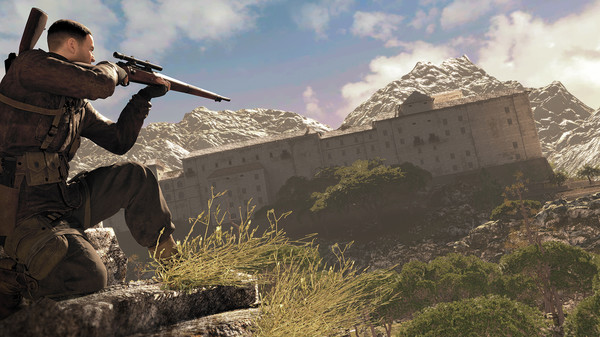 Скриншот №1 к Sniper Elite 4
