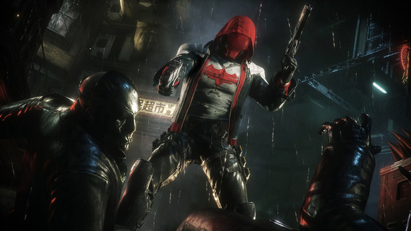 Скриншот №1 к Batman™ Arkham Knight - Red Hood Story Pack
