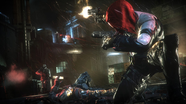 Скриншот №3 к Batman™ Arkham Knight - Red Hood Story Pack