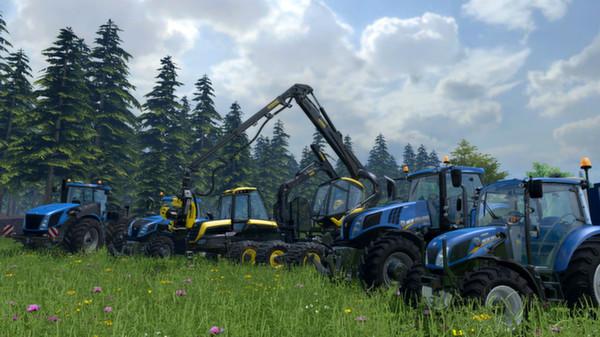 Скриншот №2 к Farming Simulator 15