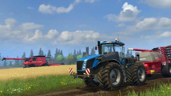 Скриншот №1 к Farming Simulator 15
