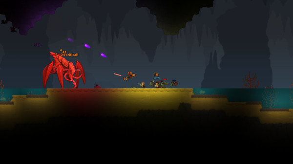 Screenshot of Dig or Die