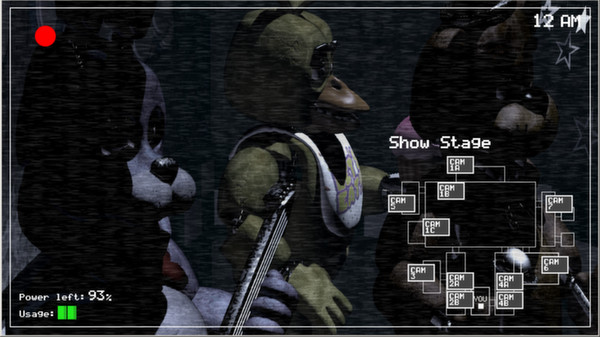 Five Nights at Freddy's скриншот