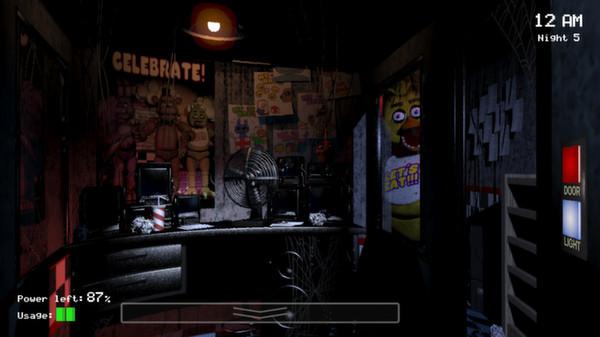 Скриншот №8 к Five Nights at Freddys