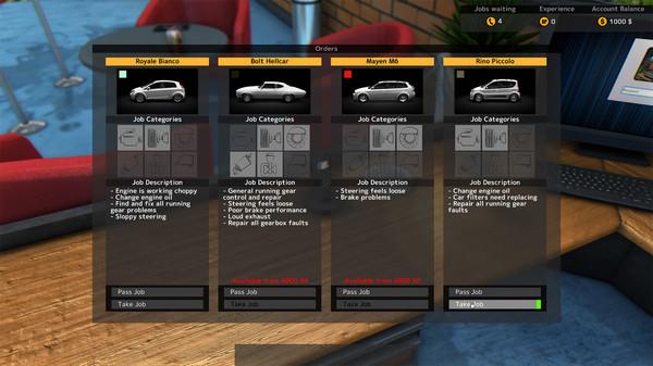Скриншот №12 к Car Mechanic Simulator 2015