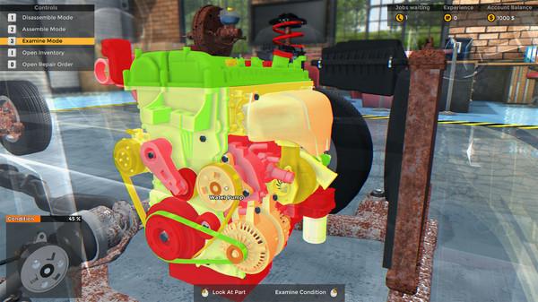 Скриншот №10 к Car Mechanic Simulator 2015
