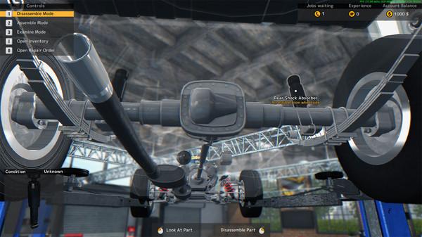 Скриншот №4 к Car Mechanic Simulator 2015