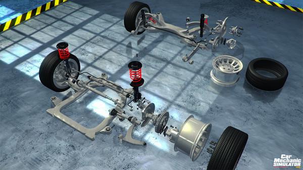 Скриншот №6 к Car Mechanic Simulator 2015