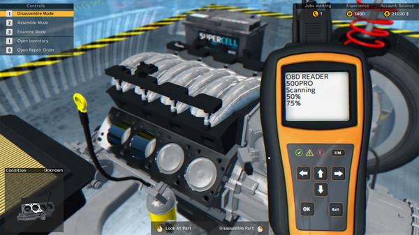 Скриншот №8 к Car Mechanic Simulator 2015