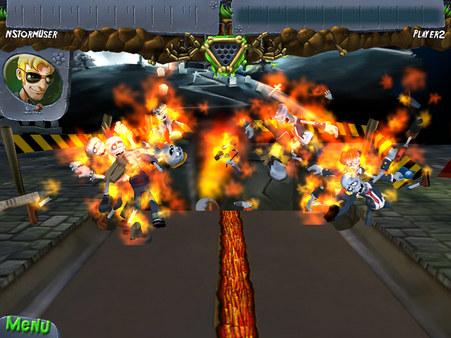 скриншот Zombie Bowl-o-Rama 2