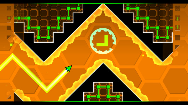 Скриншот №3 к Geometry Dash