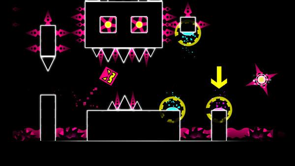 Скриншот №2 к Geometry Dash