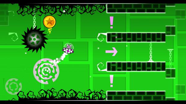 Скриншот №4 к Geometry Dash