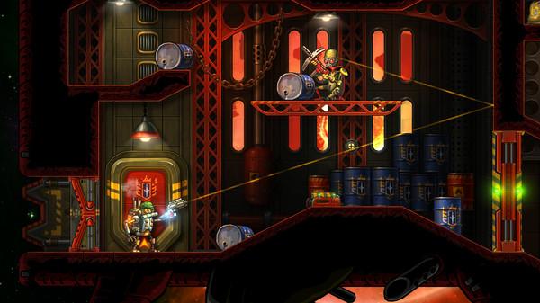 Скриншот №3 к SteamWorld Heist