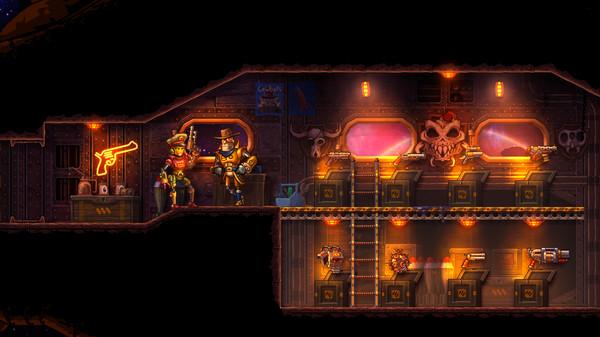 Скриншот №8 к SteamWorld Heist