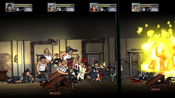Скриншот №10 к Guns Gore  Cannoli