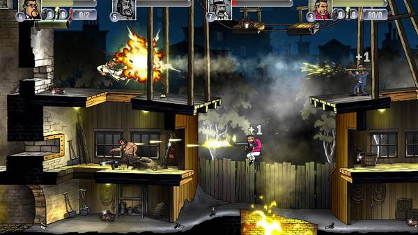 Скриншот №1 к Guns Gore  Cannoli