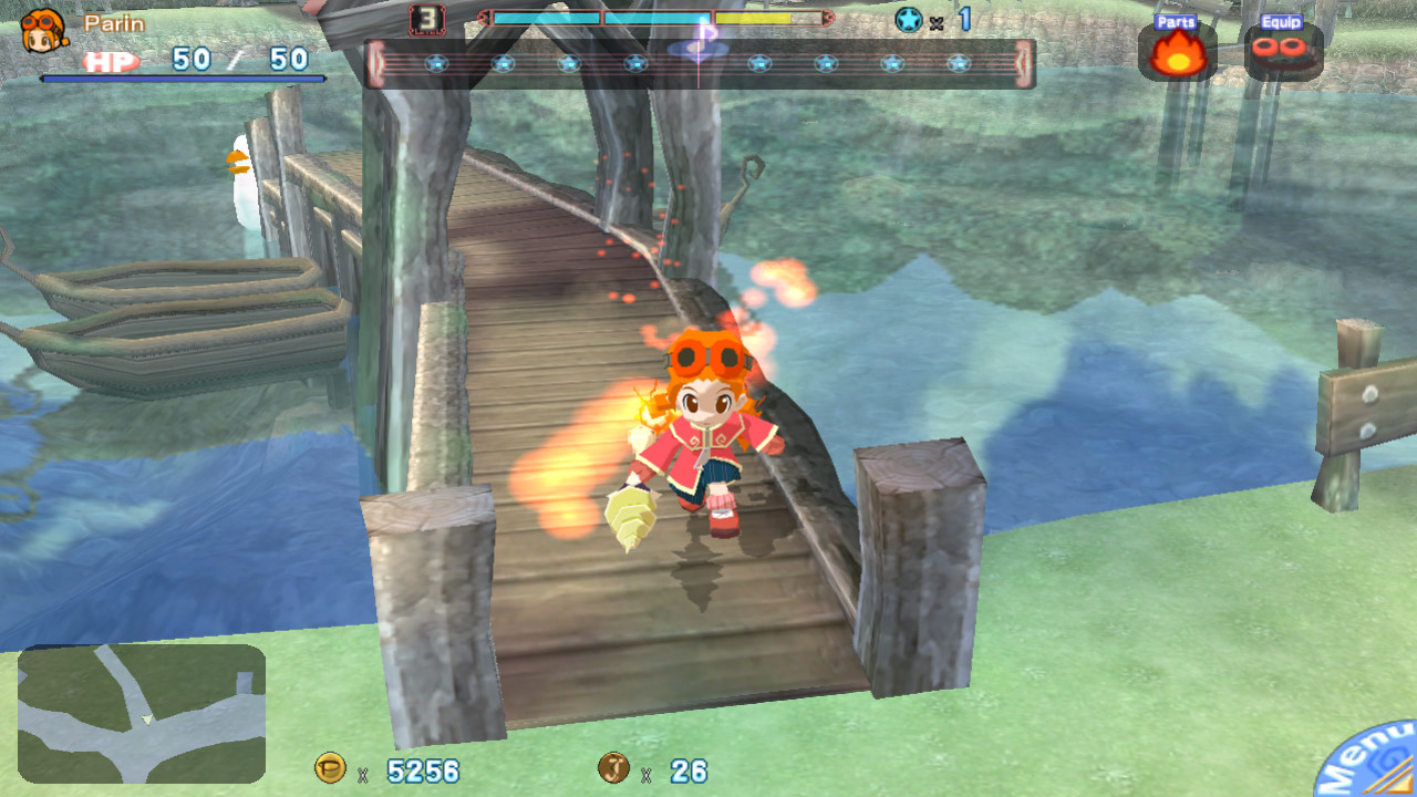 Gurumin: A Monstrous Adventure screenshot 1