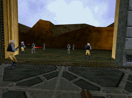 STAR WARS Jedi Knight - Mysteries of the Sith скриншот