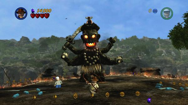Скриншот №1 к LEGO® Indiana Jones™ 2 The Adventure Continues
