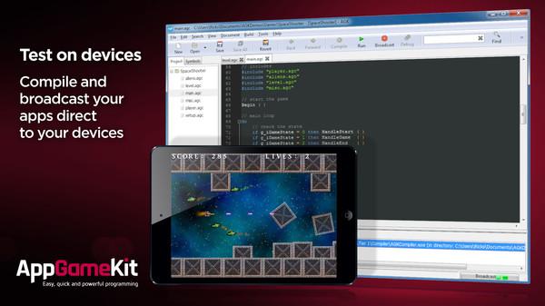 Скриншот №3 к AppGameKit Classic Easy Game Development