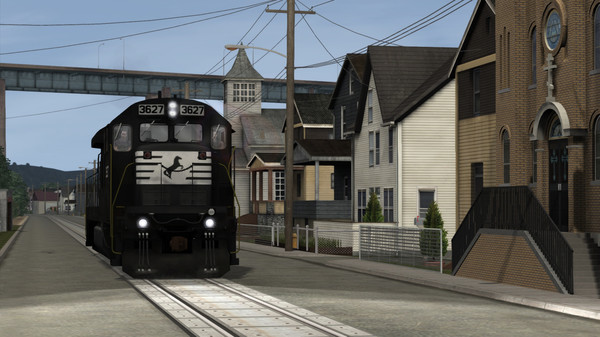скриншот Train Simulator: Norfolk Southern Big 7s Loco Add-On 5