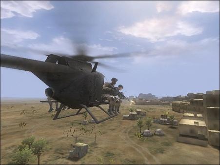 Скриншот №2 к Delta Force Black Hawk Down