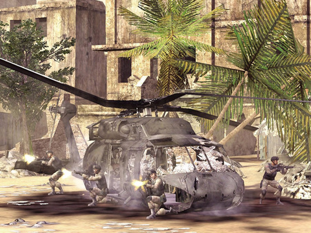 Скриншот №3 к Delta Force Black Hawk Down