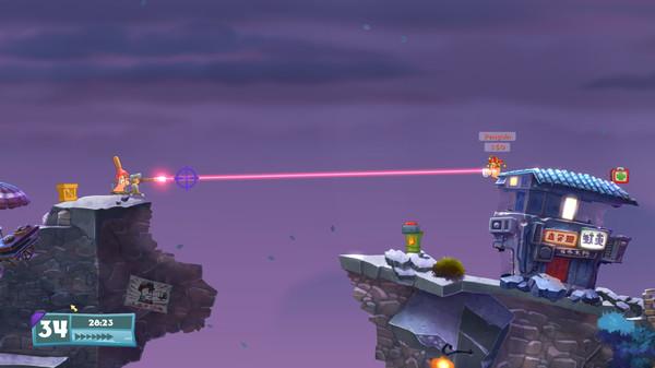 Скриншот №2 к Worms W.M.D