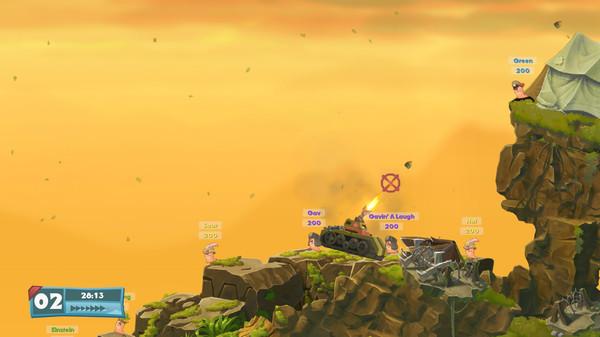 Скриншот №3 к Worms W.M.D