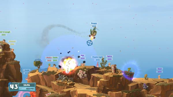 Скриншот №4 к Worms W.M.D