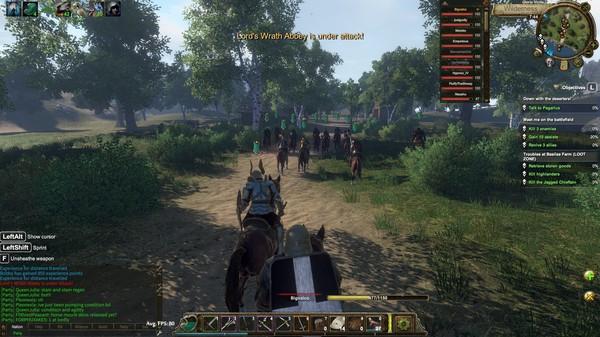 Скриншот №4 к Gloria Victis Medieval MMORPG