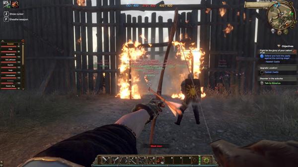 Скриншот №7 к Gloria Victis Medieval MMORPG