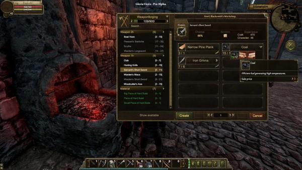 Скриншот №22 к Gloria Victis Medieval MMORPG