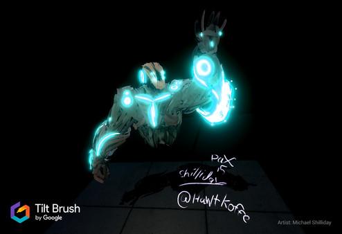 Скриншот №2 к Tilt Brush