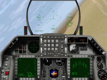 скриншот F-16 Multirole Fighter 1