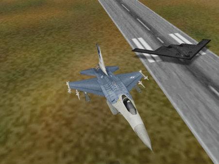 скриншот F-16 Multirole Fighter 2