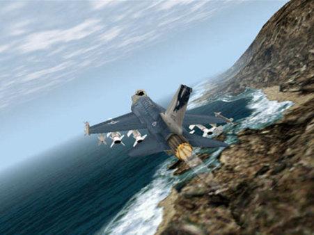скриншот F-16 Multirole Fighter 3