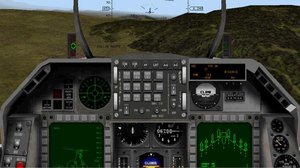 скриншот F-16 Multirole Fighter 4