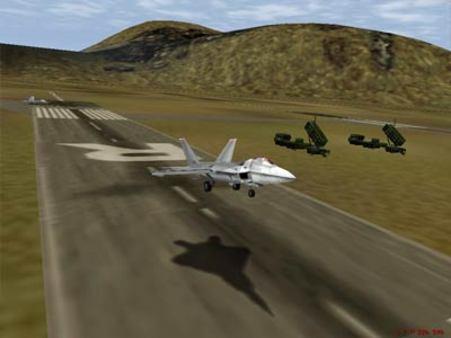 скриншот F-22 Lightning 3 1