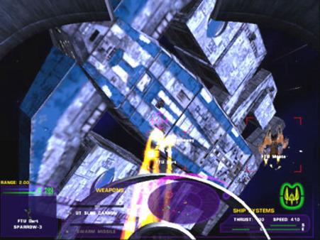 скриншот Tachyon: The Fringe 4