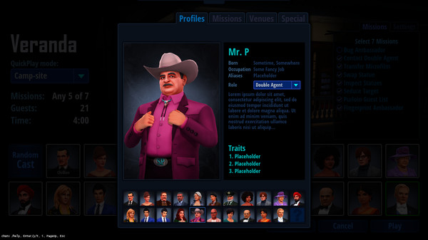 Скриншот №11 к SpyParty