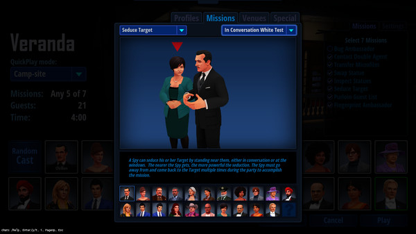 Скриншот №12 к SpyParty