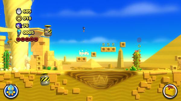 Скриншот №3 к Sonic Lost World